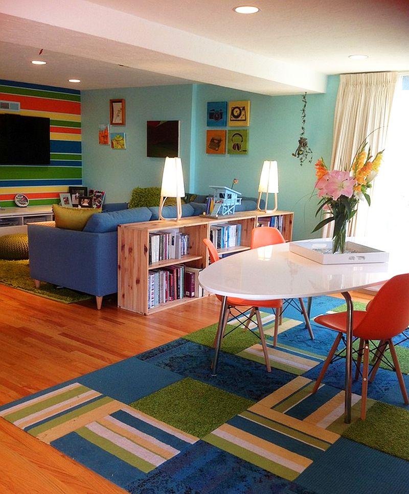 adelaparvu.com despre living colorat, interior design DACH Design 1 (1)