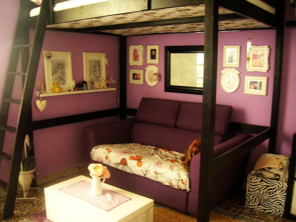 adelaparvu.com despre loc pentru pat si canapea in aceeasi camera, paturi supraetajate pentru adulti IKEA (3)