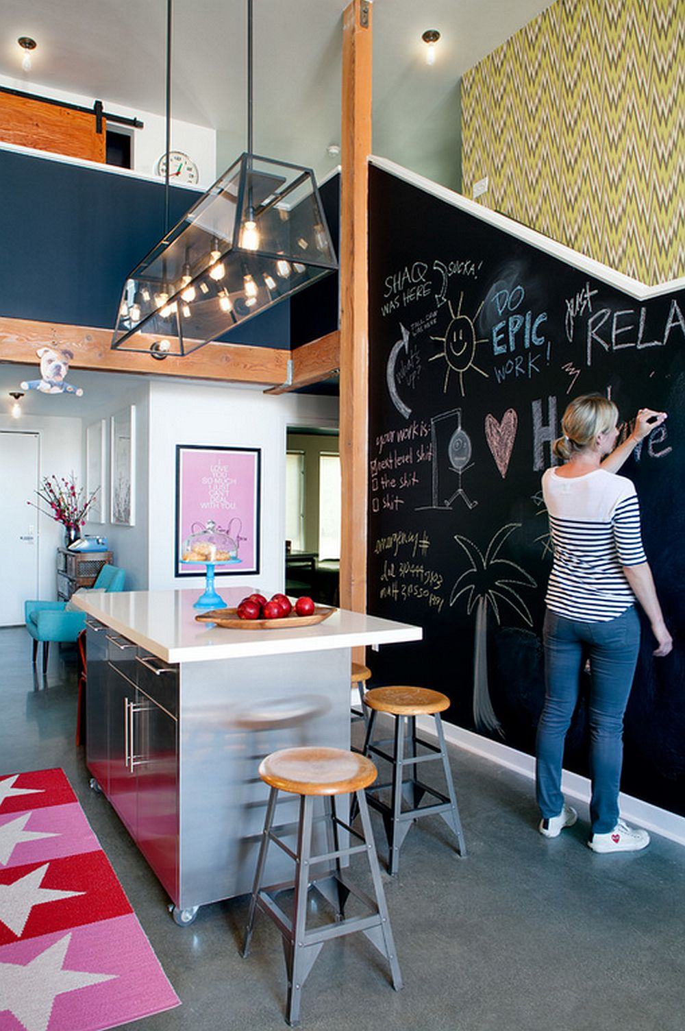 adelaparvu.com despre loft urban, design interior Daleet Spector, foto Lee Manning (1)