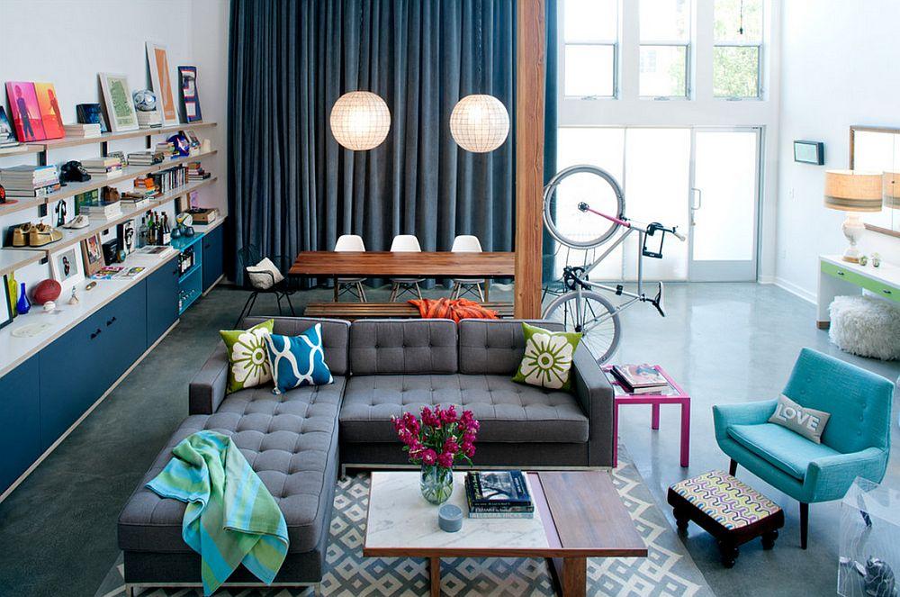 adelaparvu.com despre loft urban, design interior Daleet Spector, foto Lee Manning (3)