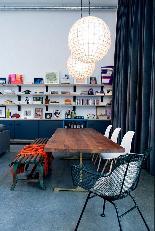 adelaparvu.com despre loft urban, design interior Daleet Spector, foto Lee Manning (4)