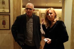 Wolfgang Koch stranepotul compozitorului si Cristina Chiriac, General Manager World Trade Center Bucuresti