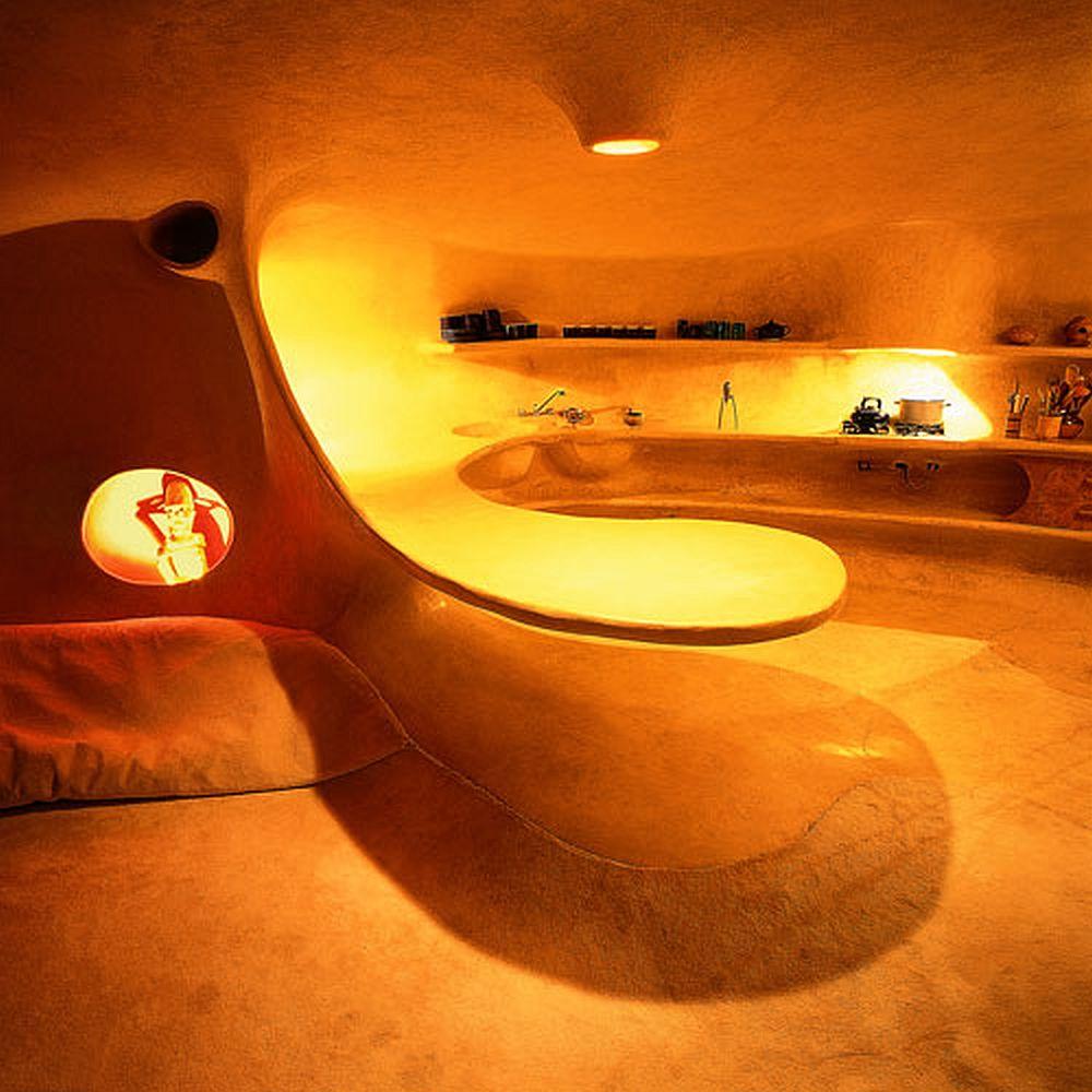 adelaparvu.com despre Casa Naucalpan, Edo, arhitect Javier Senosiain, Foto Organic Architecture (25)