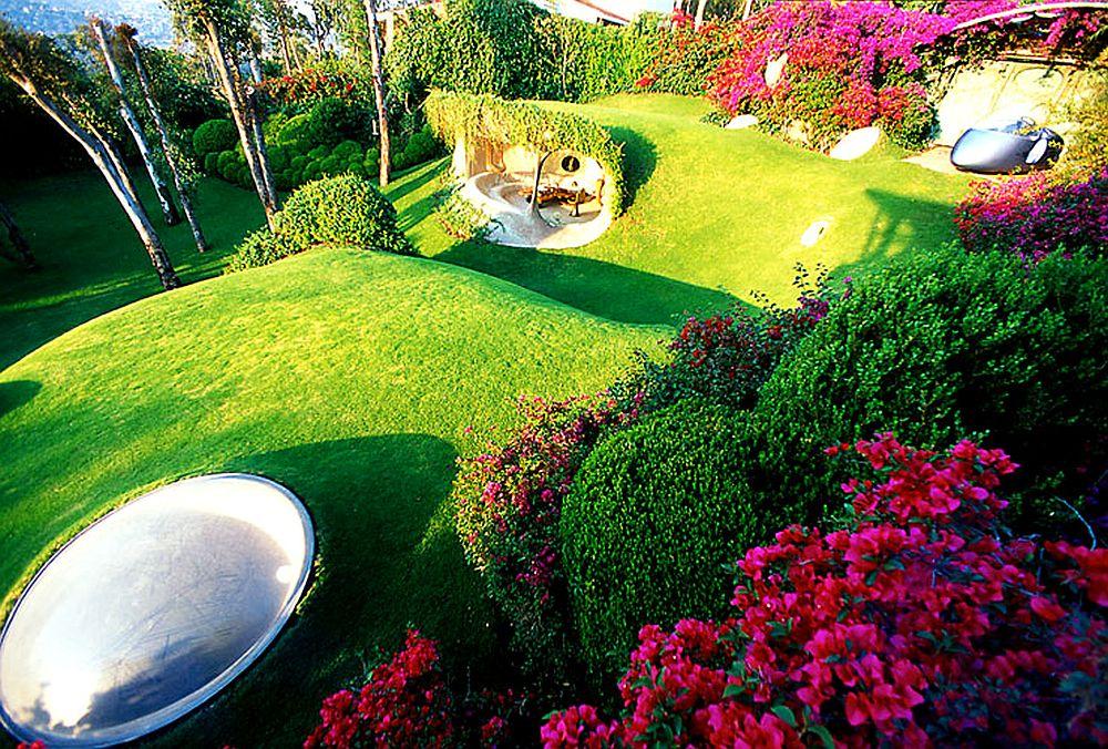 adelaparvu.com despre Casa Naucalpan, Edo, arhitect Javier Senosiain, Foto Organic Architecture (26)