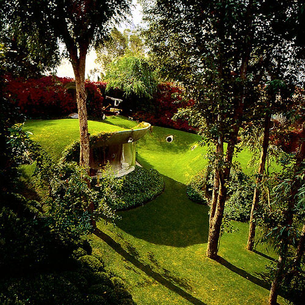 adelaparvu.com despre Casa Naucalpan, Edo, arhitect Javier Senosiain, Foto Organic Architecture (27)