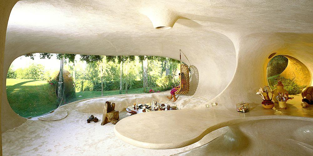 adelaparvu.com despre Casa Naucalpan, Edo, arhitect Javier Senosiain, Foto Organic Architecture (33)