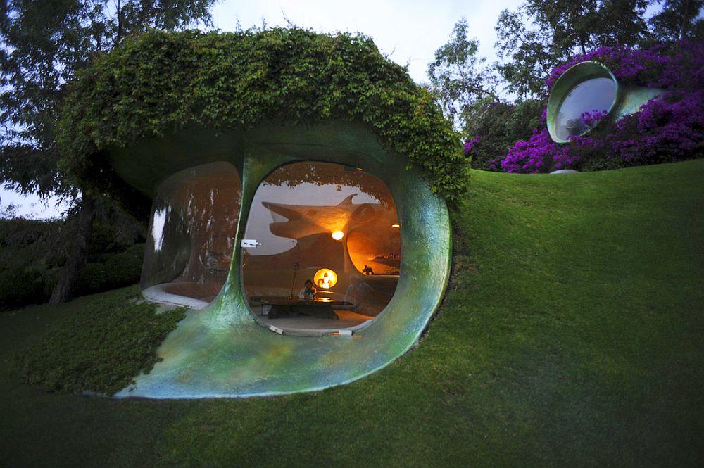 adelaparvu.com despre Casa Naucalpan, Edo, arhitect Javier Senosiain, Foto Organic Architecture (38)