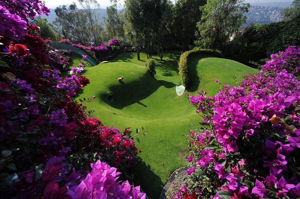 adelaparvu.com despre Casa Naucalpan, Edo, arhitect Javier Senosiain, Foto Organic Architecture (39)