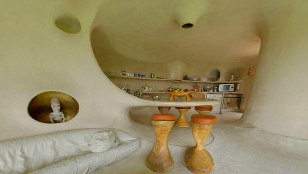 adelaparvu.com despre Casa Naucalpan, Edo, arhitect Javier Senosiain, Foto Organic Architecture (45)