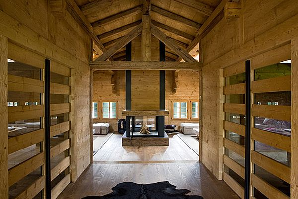 adelaparvu.com despre Chalet in Gstaad, design interior Federica Palacios, Foto AD, Gilles Trillard (1)