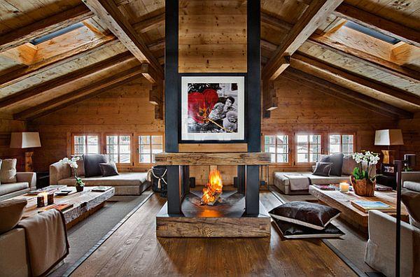 adelaparvu.com despre Chalet in Gstaad, design interior Federica Palacios, Foto AD, Gilles Trillard (12)