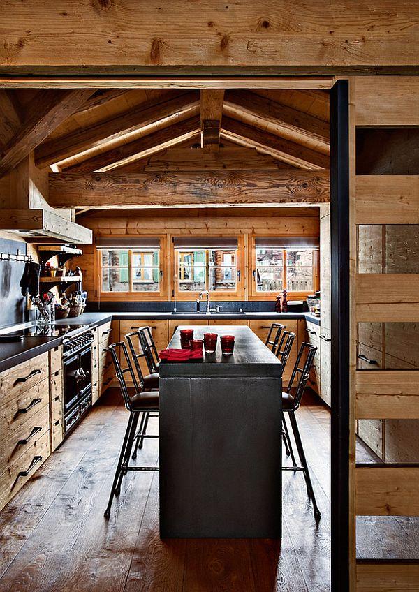 adelaparvu.com despre Chalet in Gstaad, design interior Federica Palacios, Foto AD, Gilles Trillard (15)