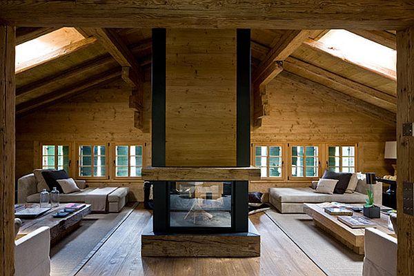 adelaparvu.com despre Chalet in Gstaad, design interior Federica Palacios, Foto AD, Gilles Trillard (2)
