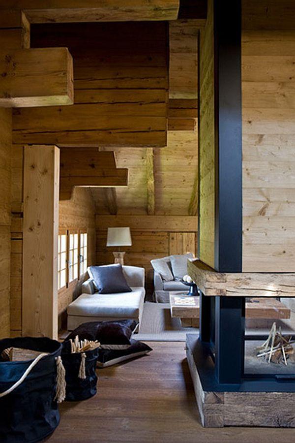 adelaparvu.com despre Chalet in Gstaad, design interior Federica Palacios, Foto AD, Gilles Trillard (3)