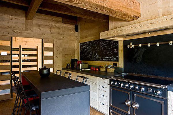 adelaparvu.com despre Chalet in Gstaad, design interior Federica Palacios, Foto AD, Gilles Trillard (4)