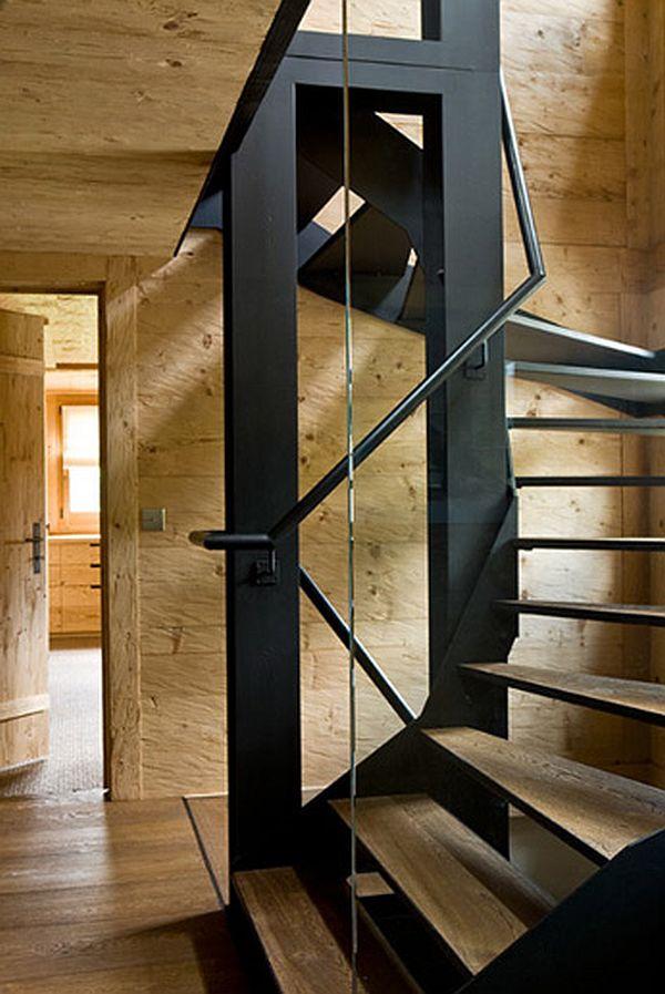 adelaparvu.com despre Chalet in Gstaad, design interior Federica Palacios, Foto AD, Gilles Trillard (6)