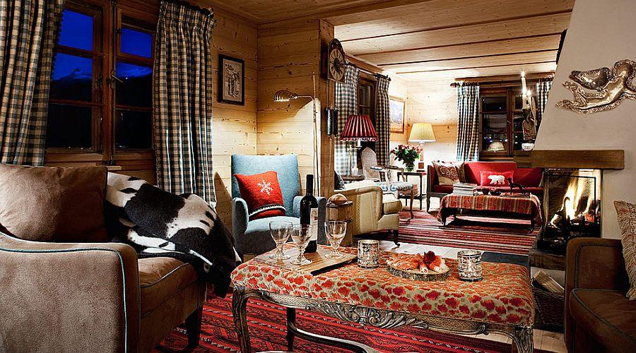adelaparvu.com despre Klosters Ski Chalet, cabana din lemn luxoasa in Elvetia (1)
