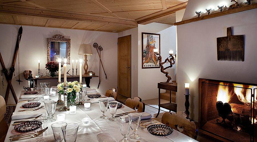 adelaparvu.com despre Klosters Ski Chalet, cabana din lemn luxoasa in Elvetia (2)