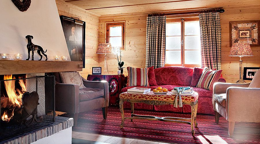 adelaparvu.com despre Klosters Ski Chalet, cabana din lemn luxoasa in Elvetia (3)