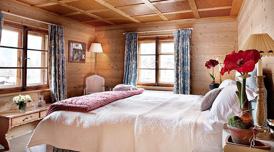 adelaparvu.com despre Klosters Ski Chalet, cabana din lemn luxoasa in Elvetia (5)