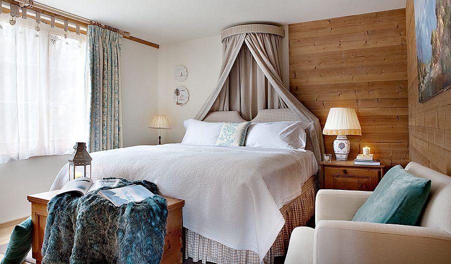 adelaparvu.com despre Klosters Ski Chalet, cabana din lemn luxoasa in Elvetia (7)