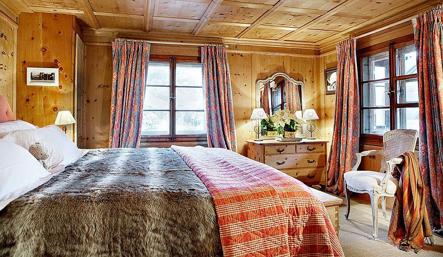 adelaparvu.com despre Klosters Ski Chalet, cabana din lemn luxoasa in Elvetia (8)