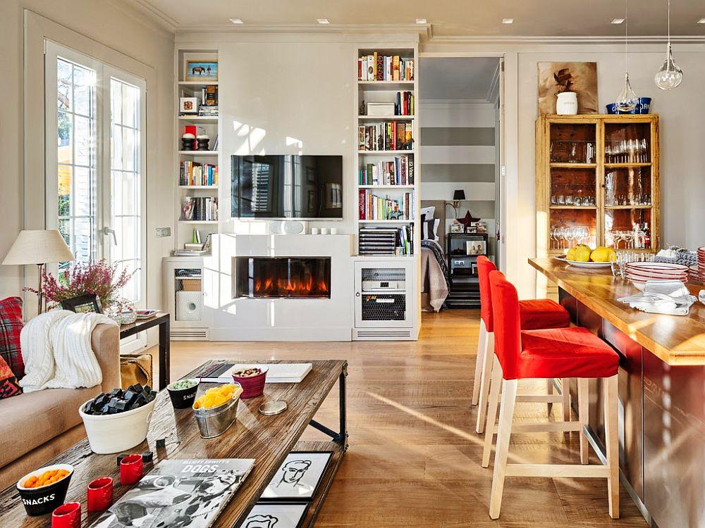 adelaparvu.com despre apartament de doua camere cu bucatarie deschisa si dressing generos, Foto Micasa (10)