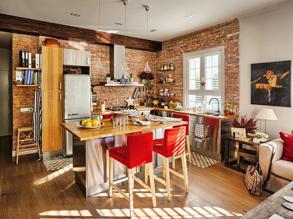adelaparvu.com despre apartament de doua camere cu bucatarie deschisa si dressing generos, Foto Micasa (2)