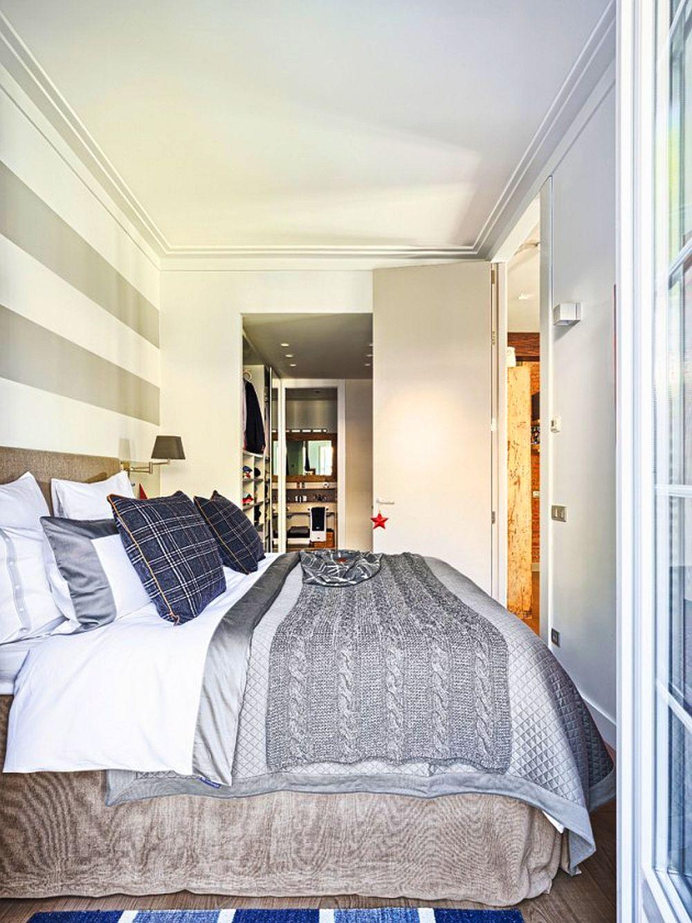 adelaparvu.com despre apartament de doua camere cu bucatarie deschisa si dressing generos, Foto Micasa (4)