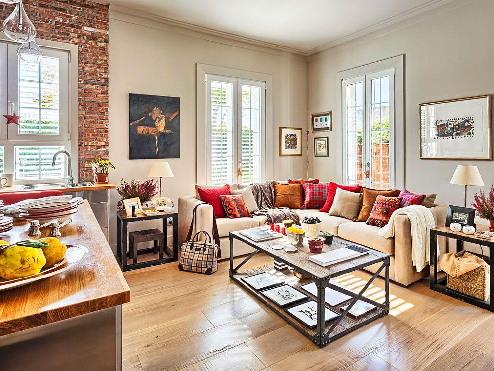 adelaparvu.com despre apartament de doua camere cu bucatarie deschisa si dressing generos, Foto Micasa (7)