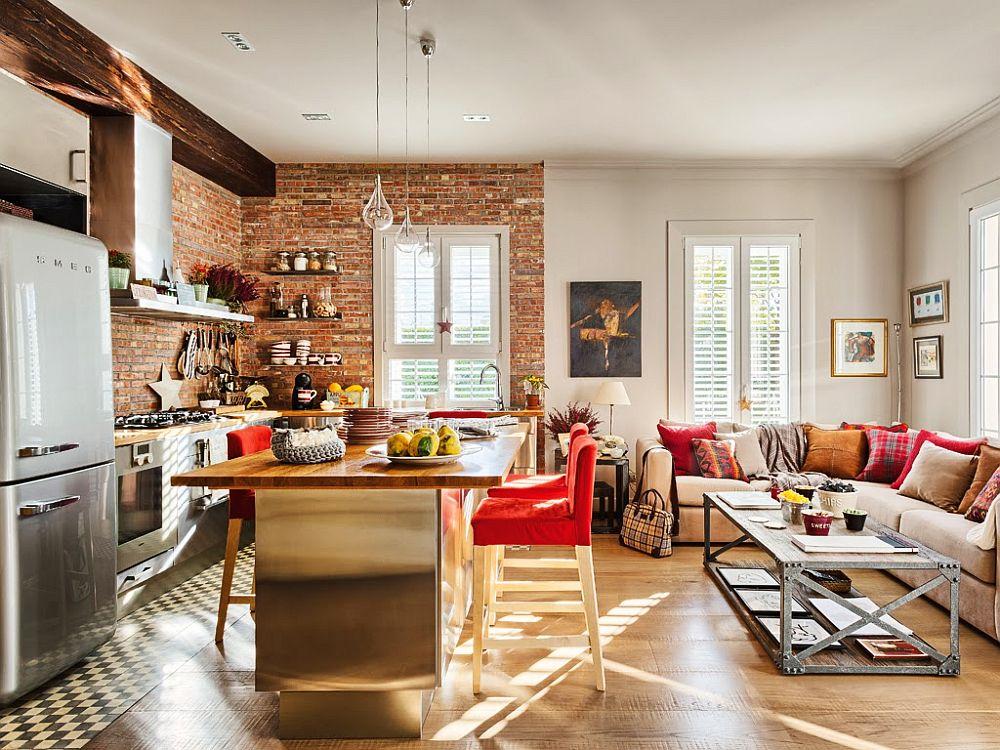 adelaparvu.com despre apartament de doua camere cu bucatarie deschisa si dressing generos, Foto Micasa (8)