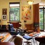 adelaparvu.com despre apartament de doua camere in stil eclectic, design interior Robert Holgate, Foto JD Peterson (4)