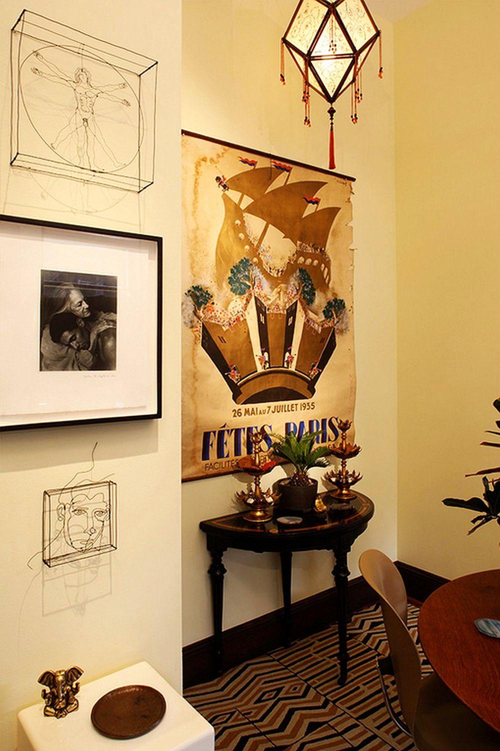 adelaparvu.com despre apartament de doua camere in stil eclectic, design interior Robert Holgate, Foto JD Peterson (8)