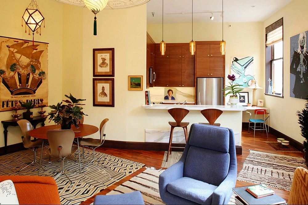 adelaparvu.com despre apartament de doua camere in stil eclectic, design interior Robert Holgate, Foto JD Peterson (9)