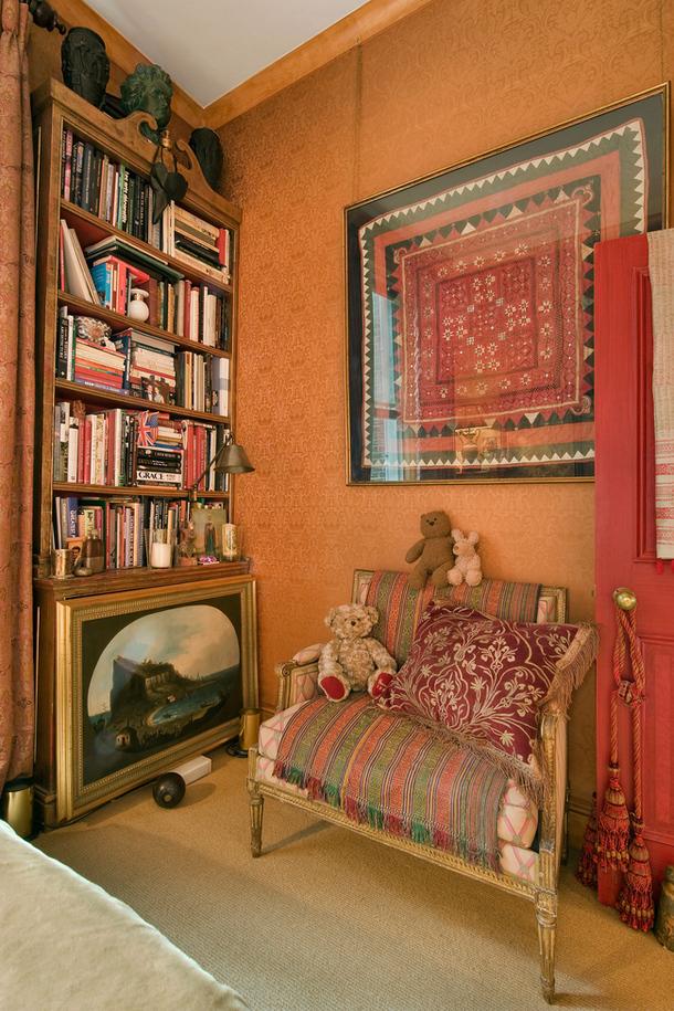 adelaparvu.com despre apartament decorat in stil clasic, vintage, design Baldassarre La Rizza, Foto AD (10)