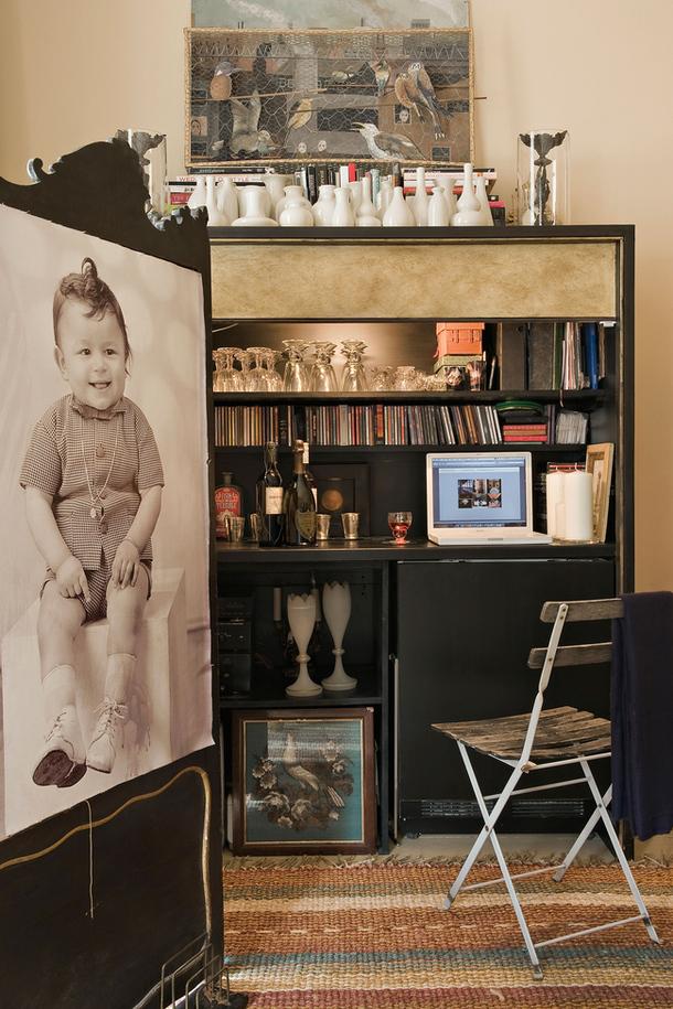 adelaparvu.com despre apartament decorat in stil clasic, vintage, design Baldassarre La Rizza, Foto AD (7)