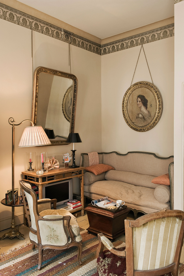 adelaparvu.com despre apartament decorat in stil clasic, vintage, design Baldassarre La Rizza, Foto AD (8)