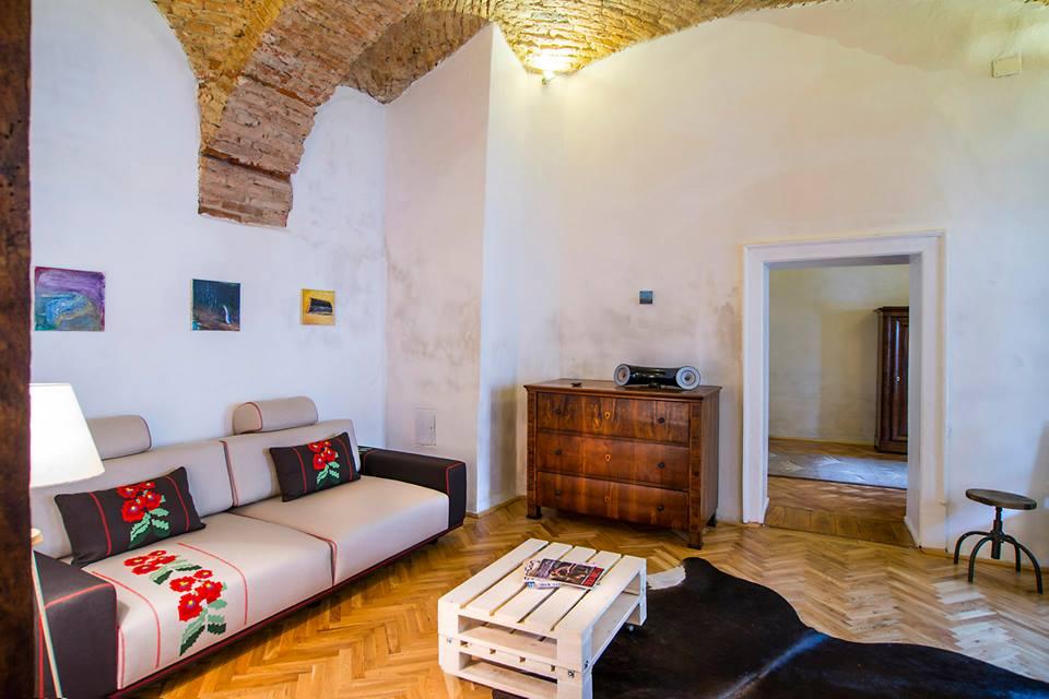 adelaparvu.com despre apartamente la Cluj, The Garden Apartment, designer Dacian Morar (1)