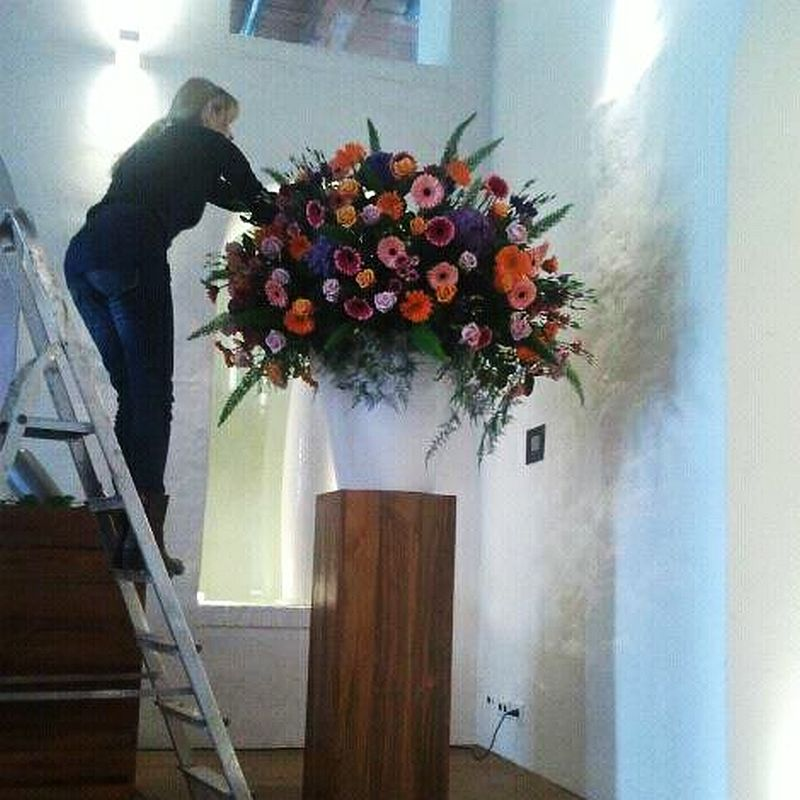 adelaparvu.com despre aranjamente florale si buchete de mireasa, florist Lucinda van der Ploeg, Foto Nikotino Fotografie  (1)
