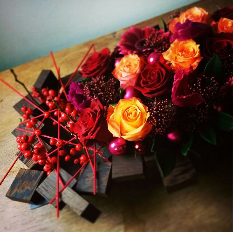 adelaparvu.com despre aranjamente florale si buchete de mireasa, florist Lucinda van der Ploeg, Foto Nikotino Fotografie  (13)