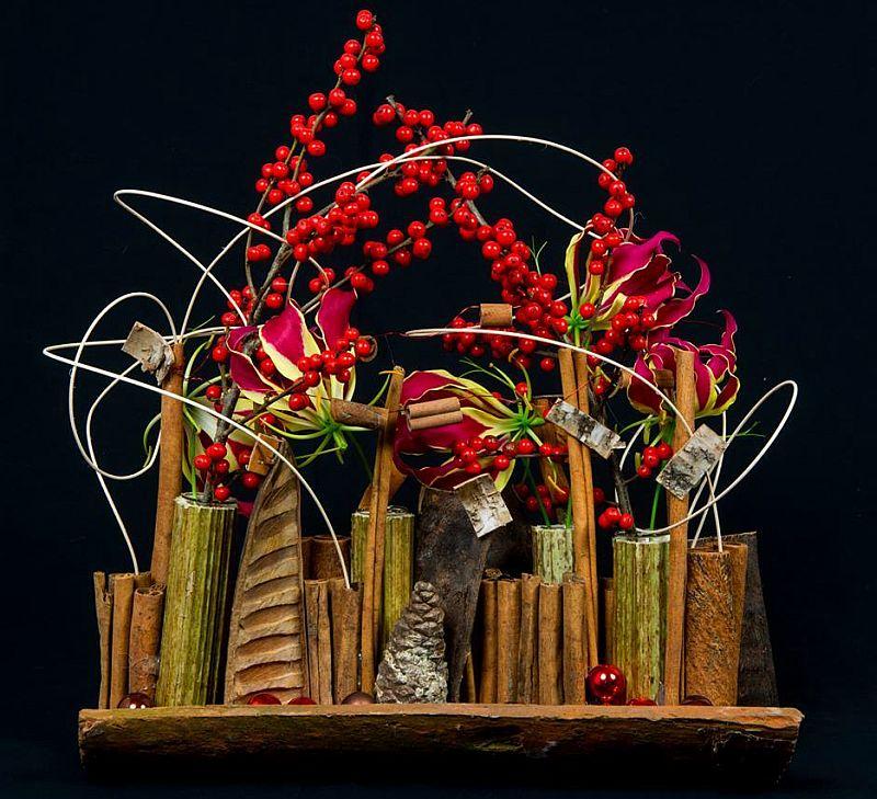 adelaparvu.com despre aranjamente florale si buchete de mireasa, florist Lucinda van der Ploeg, Foto Nikotino Fotografie  (20)