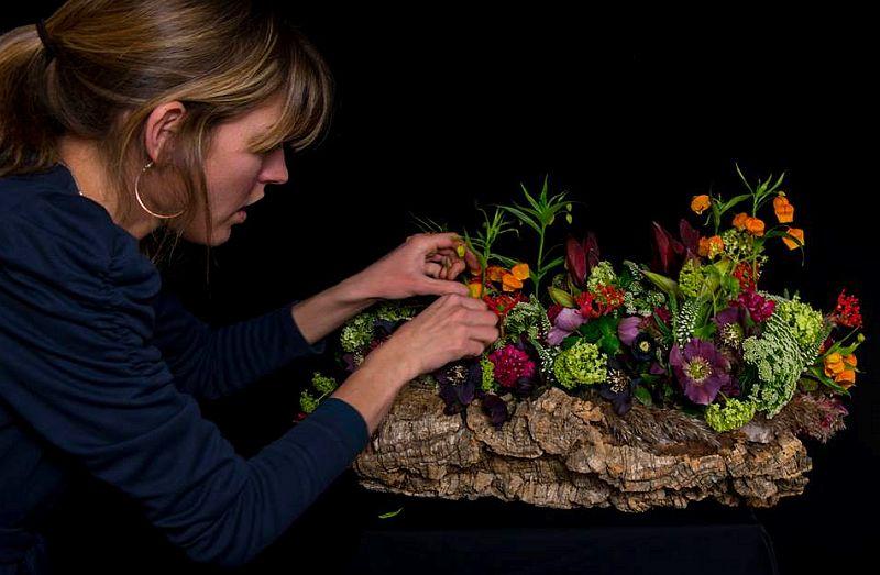 adelaparvu.com despre aranjamente florale si buchete de mireasa, florist Lucinda van der Ploeg, Foto Nikotino Fotografie  (25)