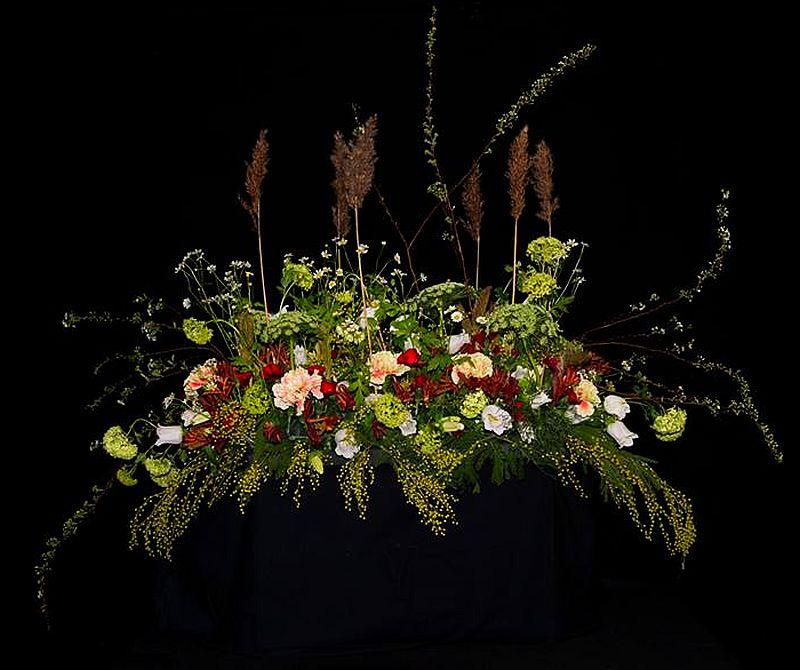 adelaparvu.com despre aranjamente florale si buchete de mireasa, florist Lucinda van der Ploeg, Foto Nikotino Fotografie  (3)