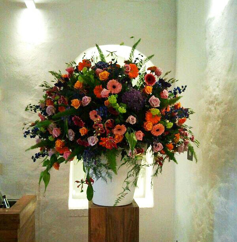 adelaparvu.com despre aranjamente florale si buchete de mireasa, florist Lucinda van der Ploeg, Foto Nikotino Fotografie  (6)