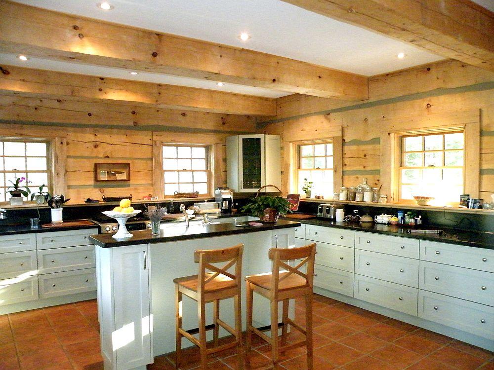 adelaparvu.com despre bucatarii rustice, case din busteni, case din lemn, Foto Designma (1)