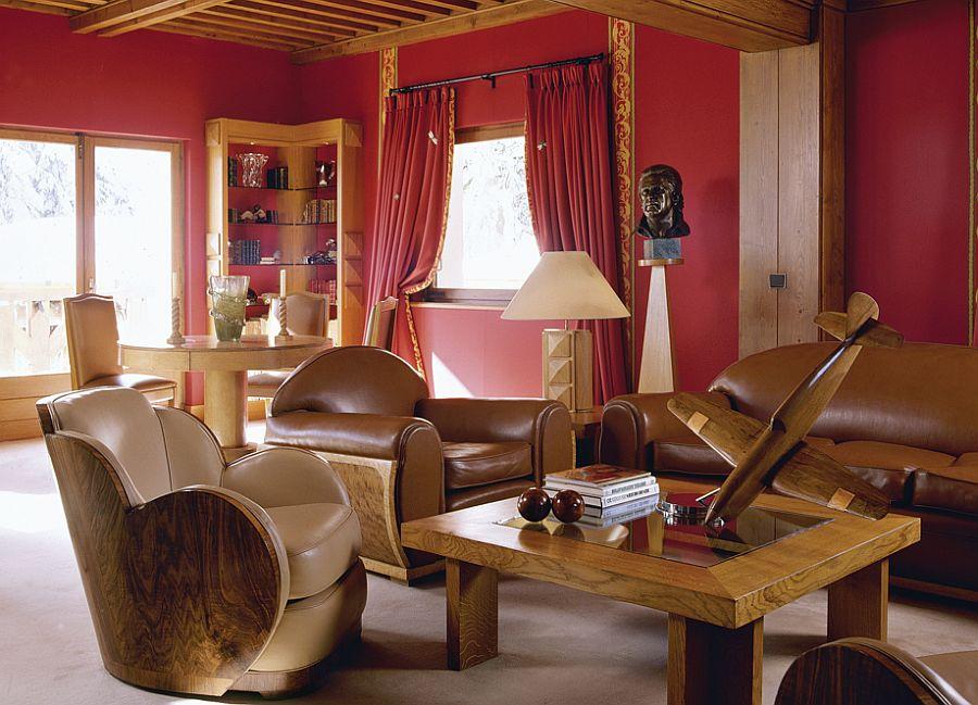 adelaparvu.com despre cabana de munte in stil Art Deco, arhitect Henry Jaquest Le Meme, Foto Brian Harrison (2)