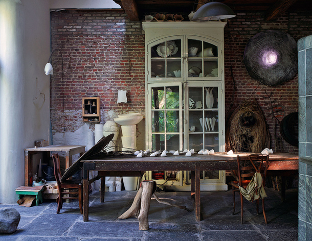 adelaparvu.com despre casa de artist Roos Van de Velde, Foto AD, Roos Van de Velde (4)