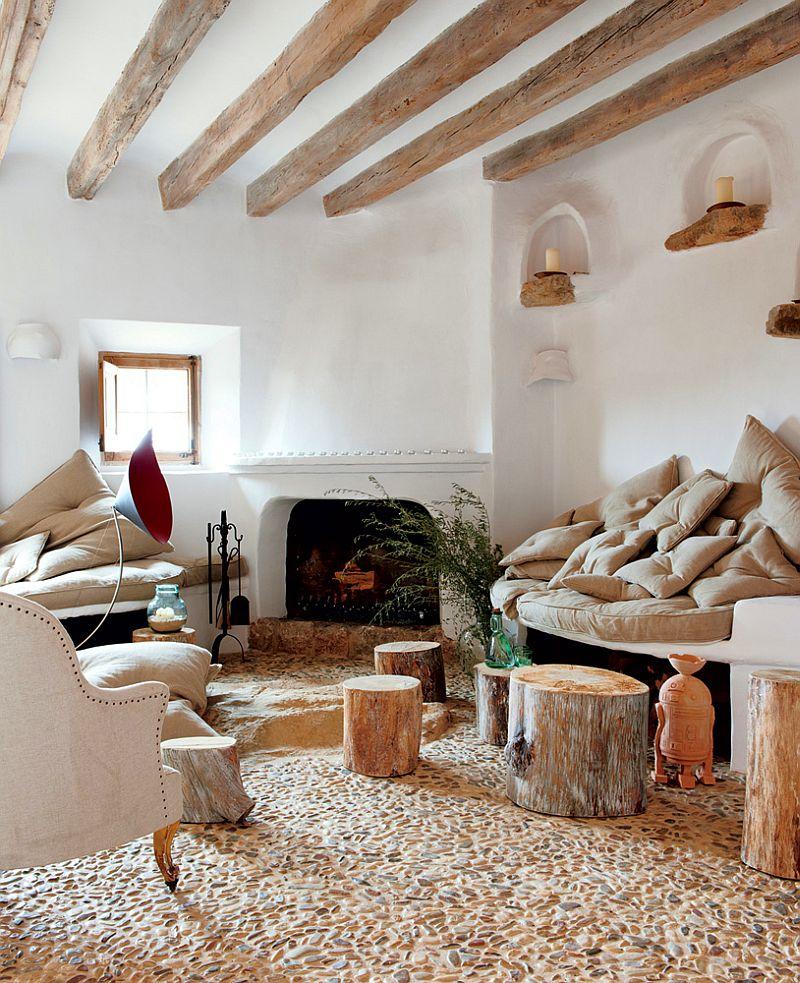 adelaparvu.com despre casa de piatra cu pereti curbi din lut, designer Alexandre de Betak, Foto TMagazine (5)
