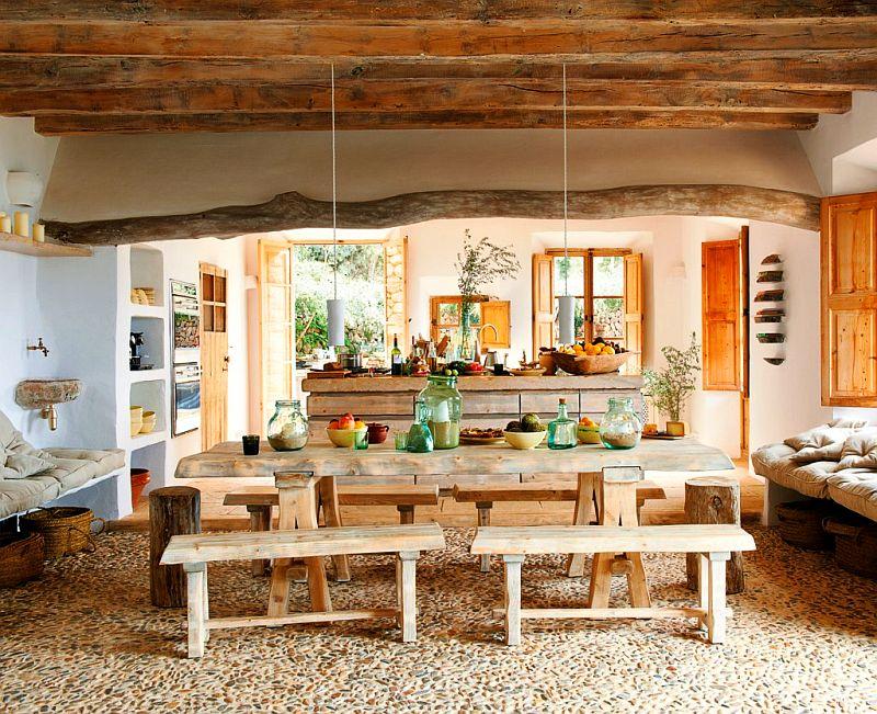 adelaparvu.com despre casa de piatra cu pereti curbi din lut, designer Alexandre de Betak, Foto TMagazine (9)