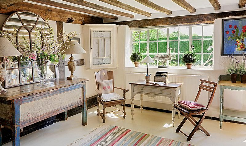 adelaparvu.com despre casa englezeasca, cottage cu decor rustic francez, Foto Johnny Bouchier, Redcover (8)